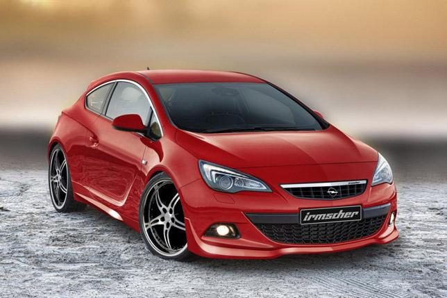 Irmscher Opel Astra GTC FrontSide