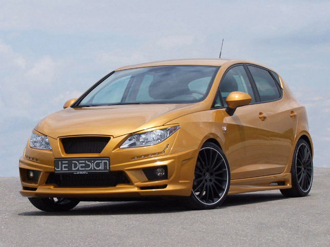 JE Design Seat Ibiza 6J Gold