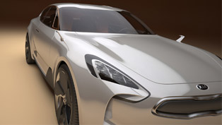 KIA Four-door Sports Sedan Concept at Frankfurt Motor Show