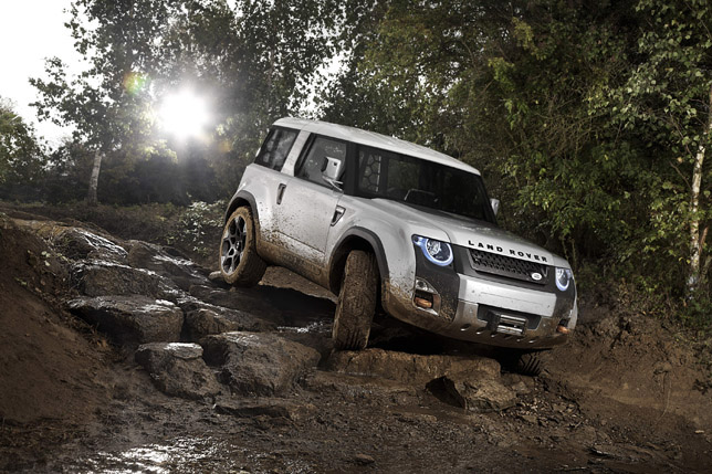 Land Rover DC100 Concept Offroad