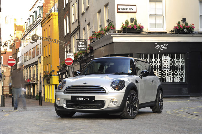 MINI Soho Special Edition Front