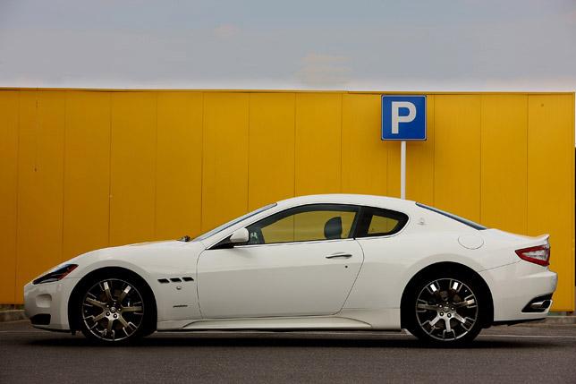 Maserati Gran Turismo S Automatic Sport Pack Side