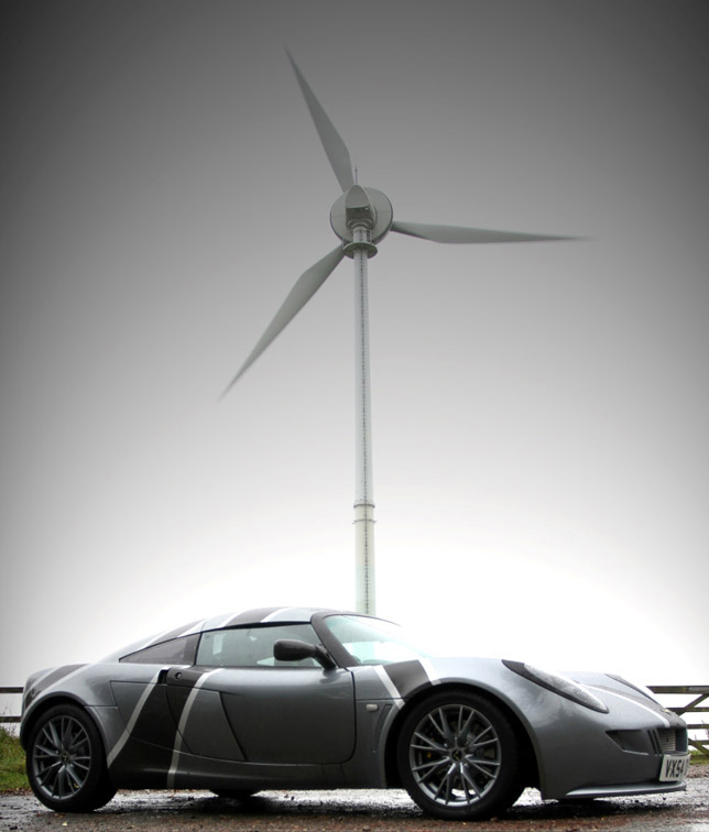 Nemisis Electric Sports Car Side