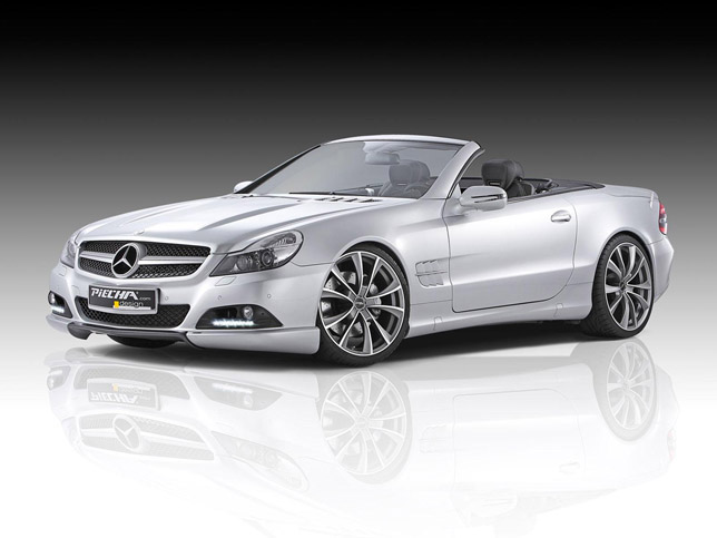 Piecha Design Mercedes SL R230 FrontSide