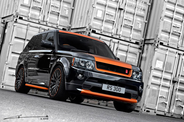 Project Kahn Range Rover Vesuvius Edition Sport 300 FrontSide