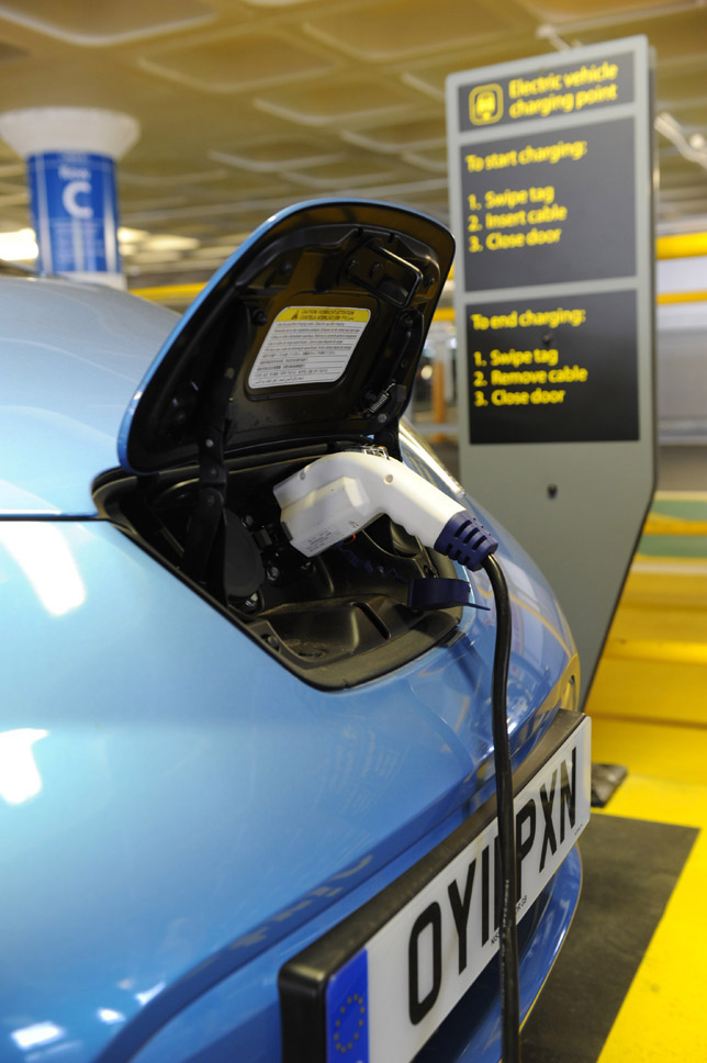 Twin charging points in Lincoln Plug