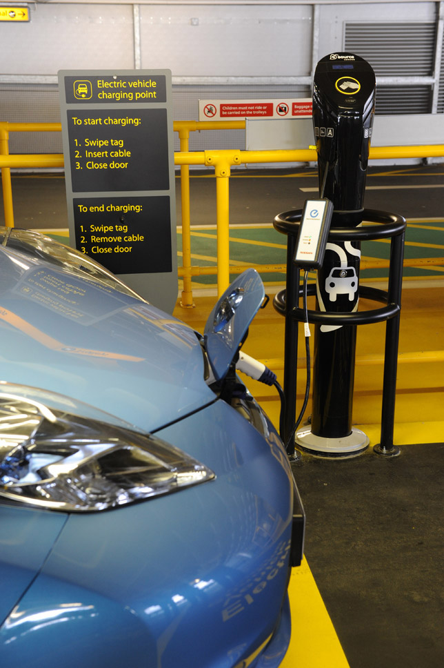 Twin charging points in Lincoln Plug 02