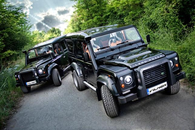 Vilner Land Rover Defender Experiance