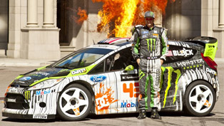 Ken Block's Gymkhana Four - The Hollywood Megamercial