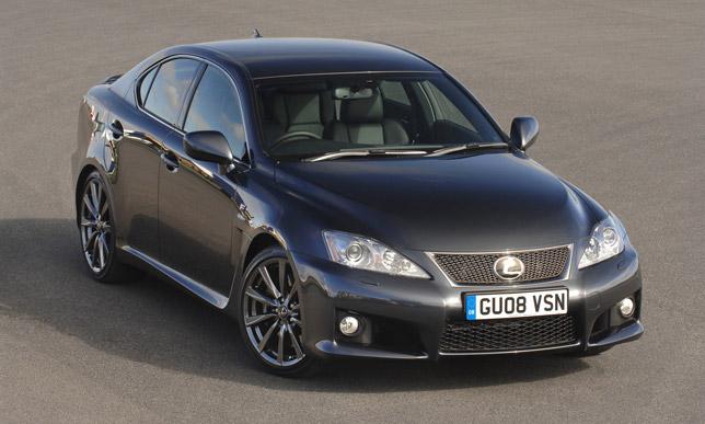 Lexus IS-F FrontSide