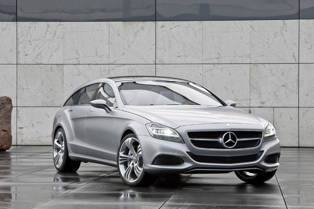 Mercedes-Benz CLS Shooting Break Concept FrontSide