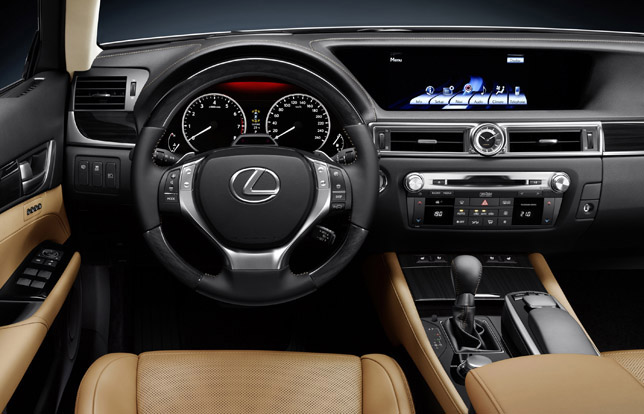 2012 Lexus GS 450h Full Hybrid Interior