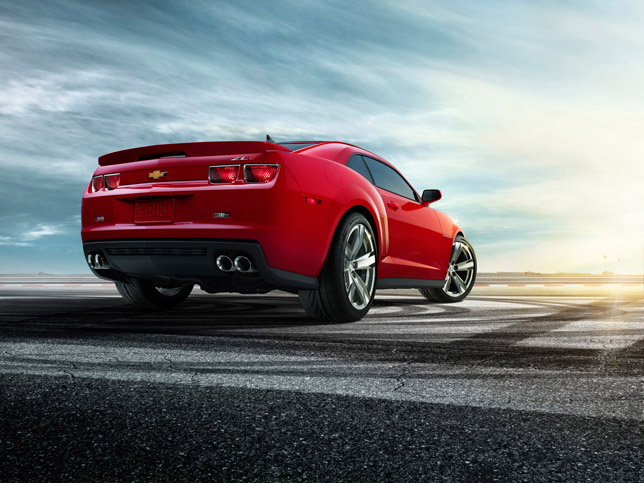 2012 Chevrolet Camaro ZL1 Rear