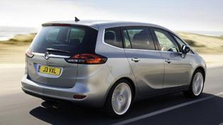 2012 Vauxhall Zafira Tourer Price - £21 000