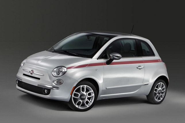 Fiat 500 Pink Ribbon Edition
