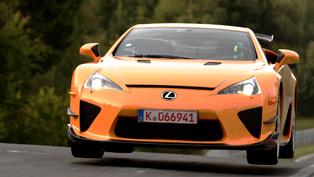 2012 Lexus LFA Nurburgring Lap Time Of 7:14 [video]