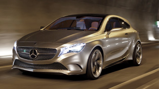Mercedes-Benz Concept A-Class National Tour