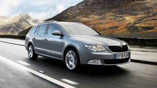 Skoda Superb Estate TDI DSG Price - £26 400