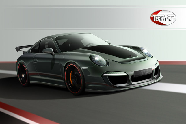 TECHART Individualization for the new Porsche 911