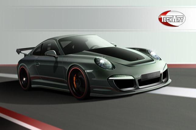 TECHART Individualization for the new Porsche 911