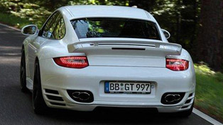 techart porsche 911 turbo - 700 ps and 880 nm