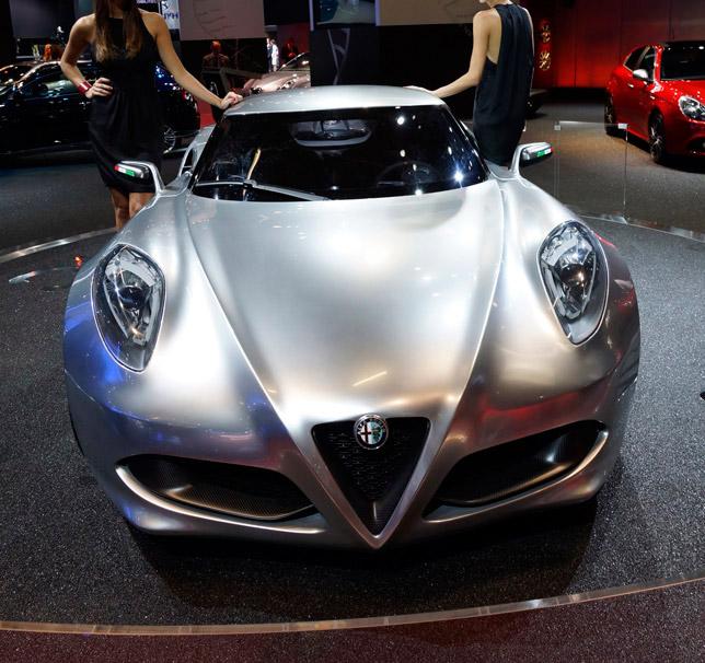 Alfa 4C Frankfurt 2011