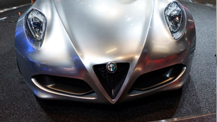 Alfa Romeo 4C at the 2011 Frankfurt Motor Show