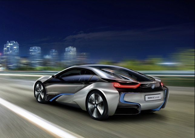 BMW i8 Concept Rear