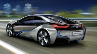 BMW i3 and i8 at the Frankfurt Motor Show