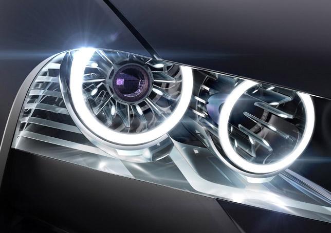BMW Vision ConnectedDrive Headlight