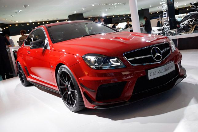 Mercedes-Benz C 63 AMG Black Series Frankfurt 2011