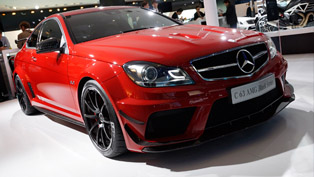 Mercedes C63 AMG Black Series in Frankfurt [video]
