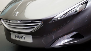 Peugeot HX1 Concept in Frankfurt