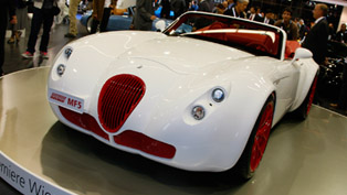 wiesmann roadster mf3 final edition at the 2011 frankfurt