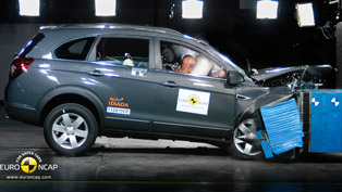 2011 Chevrolet Captiva – 5 Star Euro NCAP rating