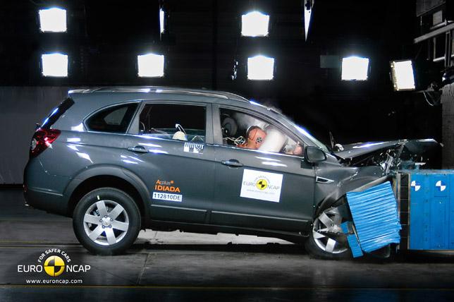 2011 Chevrolet Captiva crash
