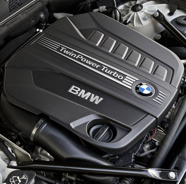 2012 BMW 6 Series Coupe Engine