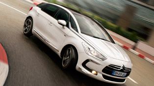 Citroen DS5 at Top Gear Live