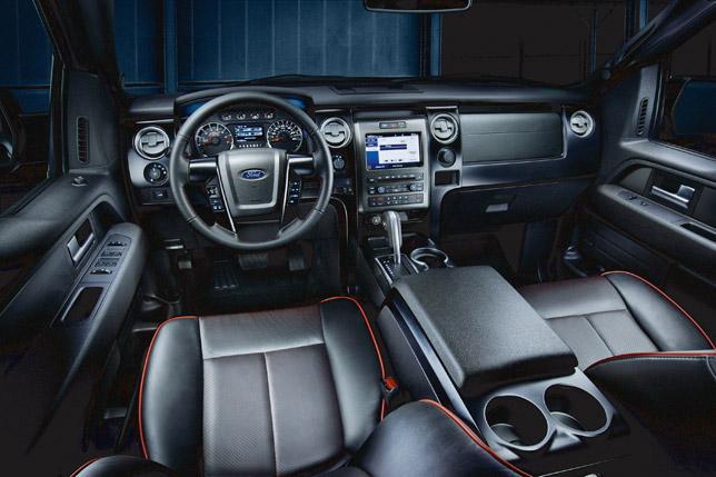 2012 Ford F-150 FX Interior