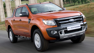 2012 Ford Ranger - 5 Star Euro NCAP rating