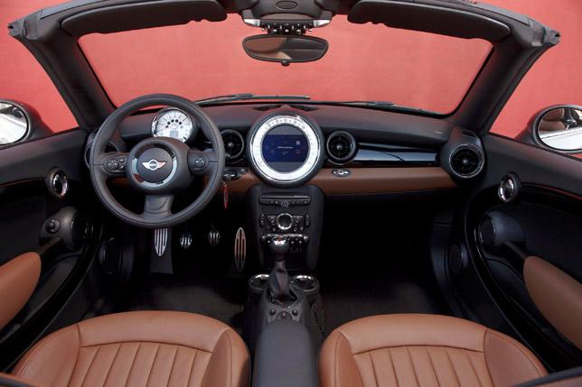 2012 MINI Roadster Interior