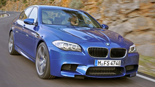 2012 BMW F10 M5 donuts [video]