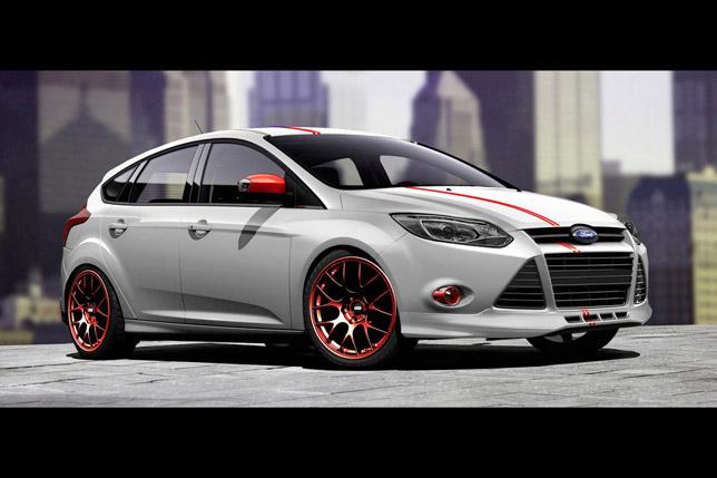 3dCarbon Ford Focus