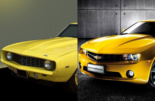 1969 zl1 Camaro and 2011 Camaro SS (front)