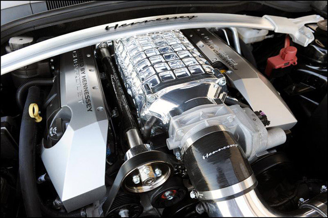 Hennessey 20th Anniversary HPE650 Supercharged Camaro Engine