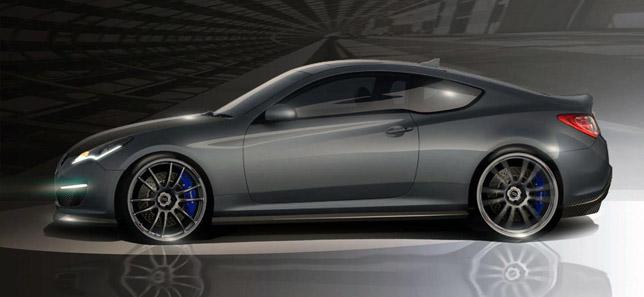 Hyundai Genesis Hurricane SC Coupe
