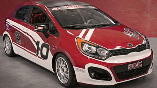 kia rio b-spec race car