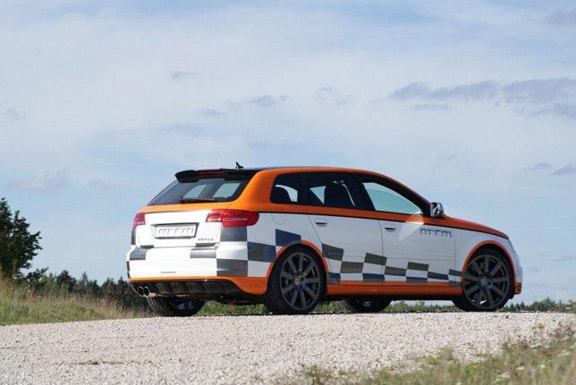 MTM Audi RS3 RearSide