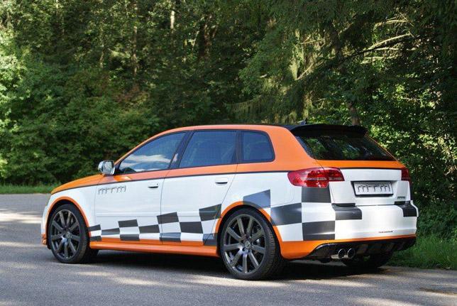 MTM Audi RS3 Rear
