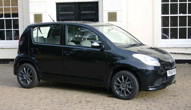 Perodua Ebony Black Myvi SXI